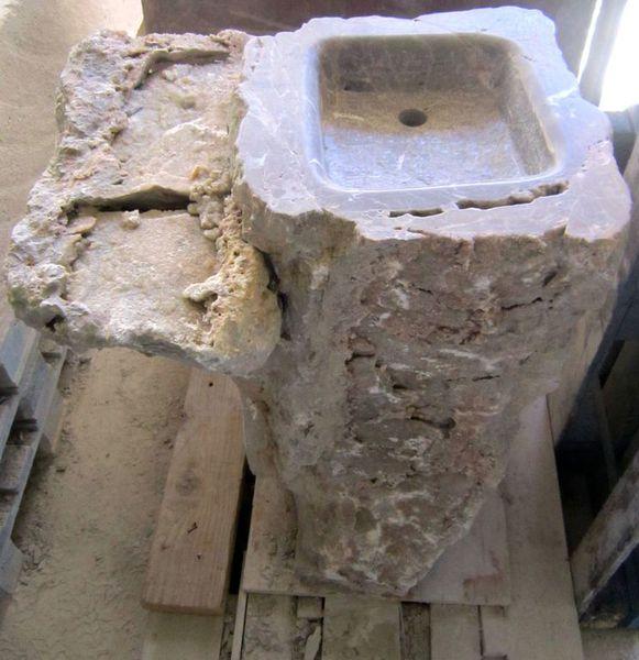Pedro iban trabajos especiales en piedra piedra natural - Lavabos de piedra natural ...