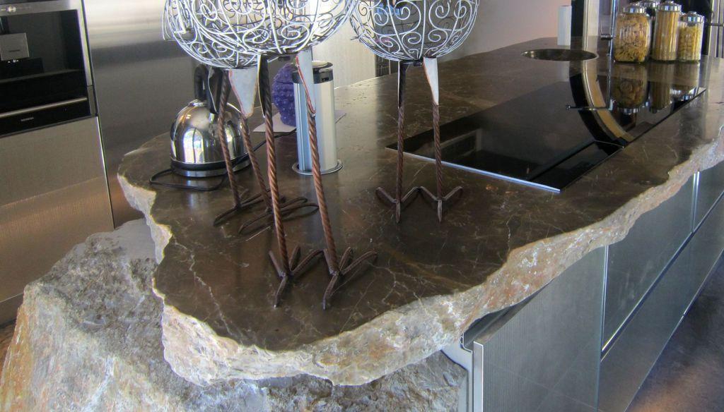 Pedro iban trabajos especiales en piedra piedra viva for Encimeras de cocina de piedra baratas