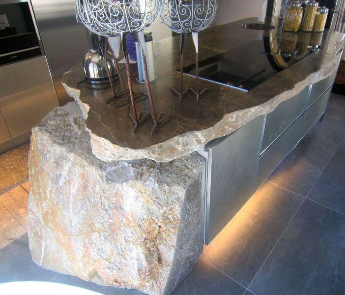 Pedro iban trabajos especiales en piedra especialista en for Encimeras de piedra precios