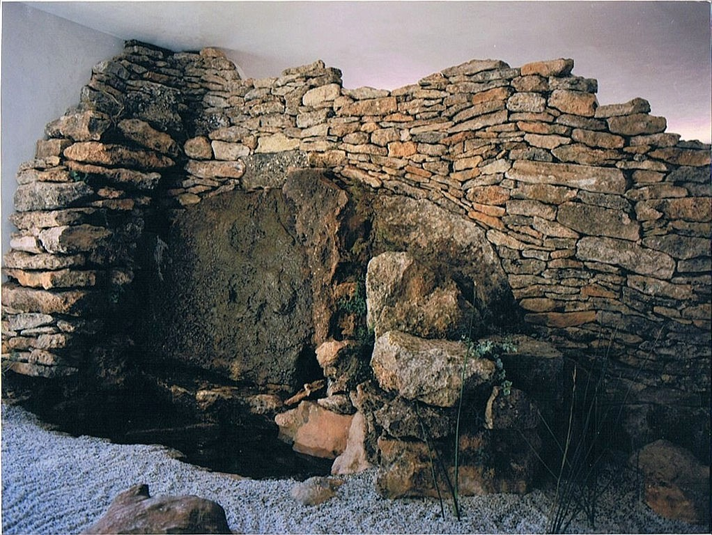 Pedro iban trabajos especiales en piedra jardines for Jardines en piedra natural