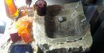 lavabo de piedra ibiza